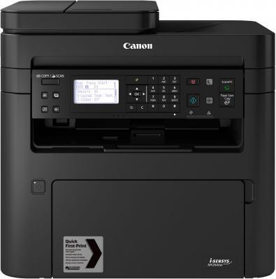 МФУ лазерный Canon i-Sensys MF264dw (2925C016) A4 Duplex WiFi черный мфу лазерный canon i sensys mf428x a4 лазерный белый [2222c006]