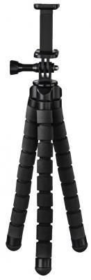 лучшая цена Штатив Hama Flex настольный черный алюминий (145гр.)