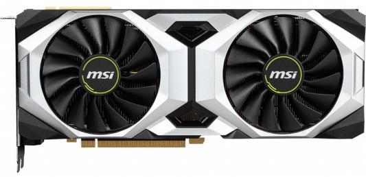 Видеокарта MSI nVidia GeForce RTX 2080 Ti VENTUS OC PCI-E 11264Mb GDDR6 352 Bit Retail цена и фото
