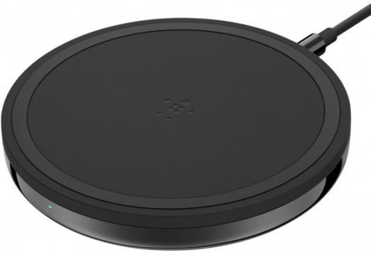 Фото - Беспроводное зарядное устройство Belkin F7U054VFBLK-APL черный беспроводное зарядное устройство belkin f8m747bt 5w black