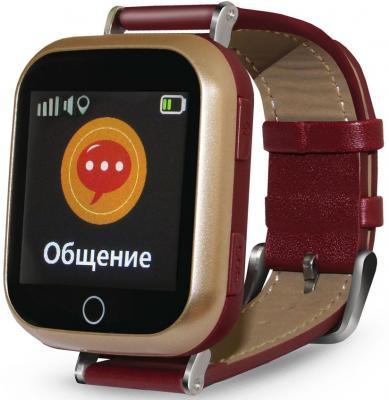 Смарт-часы Ginzzu GZ-521 1.44 IPS коричневый (00-00001096) смарт часы ginzzu gz 501 синий