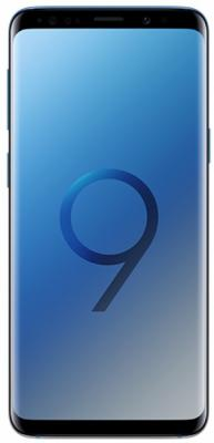 Смартфон Samsung Galaxy S9 64 Гб голубой (SM-G960FGBDSER) смартфон samsung galaxy s9 64 гб черный sm g965fzkdser