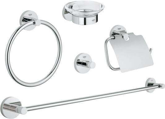 Набор для ванной комнаты Grohe Essentials 40344001 5 предметов комплект экстракторов 5 предметов 5 64 19 64 jonnesway ag010049
