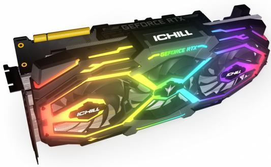 Видеокарта Inno3D Видеокарта Inno3D GeForce RTX 2070 iChill X3 Jekyll 8GB GDDR6 BOX видеокарта 8gb
