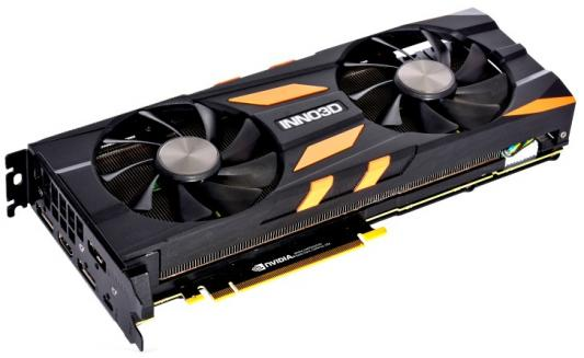 Видеокарта Inno3D Видеокарта Inno3D GeForce RTX 2080 Twin X2 8GB GDDR6 BOX видеокарта inno3d geforce gtx 1070 ti x2 v2 8gb n107t 2sdn p5ds
