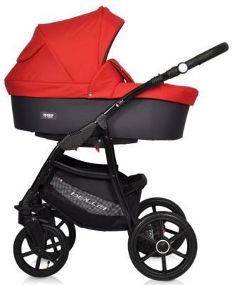 Коляска 2-в-1 Riko Bella (10/серый-красный) коляска rudis solo 2 в 1 графит красный принт gl000401681 492579