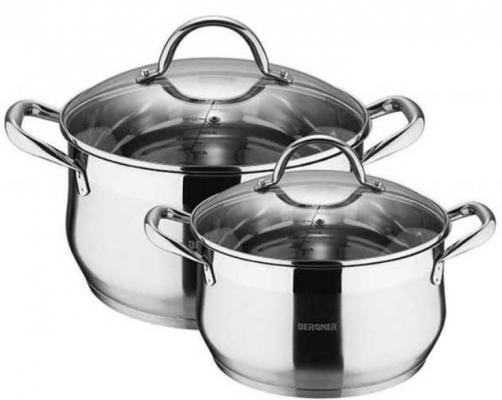 Набор посуды Bergner Gourmet BG-9513-LMM набор контейнеров bergner bg 5723