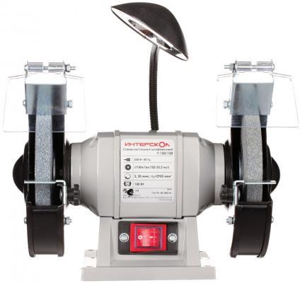 Станок точильный Интерскол Т-150/150 150 мм электроточило интерскол т 150 250