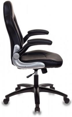 Кресло игровое Бюрократ VIKING-1/BLACK черный искусственная кожа (пластик черный) цена