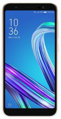 Смартфон ASUS Zenfone Lite L1 G553KL 32 Гб золотистый (90AX00R2-M01640) сотовый телефон asus zenfone lite l1 g553kl gold