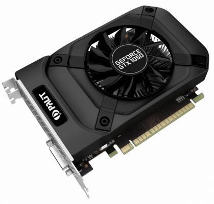 Видеокарта 4096Mb Palit GeForce GTX 1050 Ti PA-GTX1050Ti StormX 4G PCI-E 4096Mb 128 Bit цена