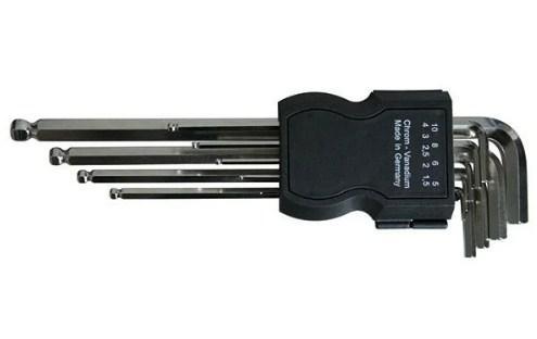 все цены на Набор ключей HAUPA 100921 шестигранных штифтовых со сферической головкой 8шт ws 2 -10 онлайн