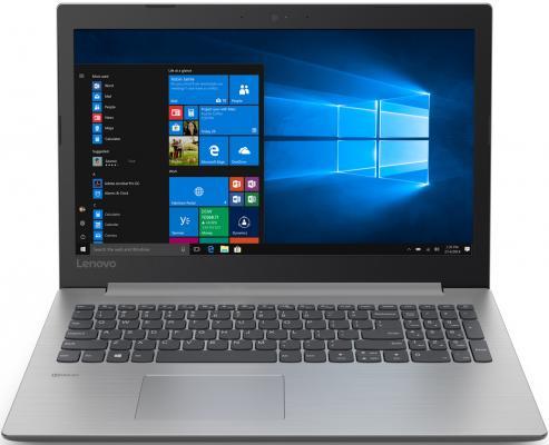 Ноутбук Lenovo 330-15ICH .6 FHD, Intel Core i5-8300H,8Gb,1Tb+SSD 256Gb,noDVD,NVidia 1050GTX 4Gb,DOS,grey(81FK00GCRU)