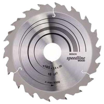 Диск пильный BOSCH Speedline Wood 165x18x30/20 (2.608.640.789) 165x18x30/20 цена
