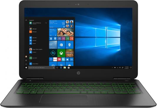Ноутбук HP Pavilion Gaming 15-dp0096ur 15.6 1920x1080 Intel Core i7-8750H 1 Tb 128 Gb 8Gb nVidia GeForce GTX 1060 3072 Мб черный DOS 5AS65EA