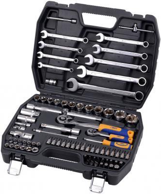 Набор инструментов KRAFT КТ 700305 1/2DR и 1/4DR 82пр.