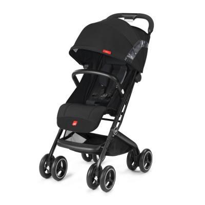 Прогулочная коляска GB Qbit+ (satin black) коляска прогулочная gb pockit lizard khaki