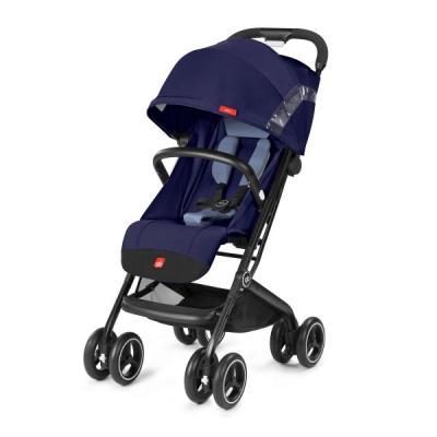 Прогулочная коляска GB Qbit+ (sapphire blue) коляска прогулочная gb pockit lizard khaki