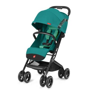 Прогулочная коляска GB Qbit+ (laguna blue) коляска прогулочная gb pockit lizard khaki