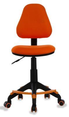 Кресло детское Бюрократ KD-4-F/TW-96-1 оранжевый TW-96-1 кресло детское бюрократ kd 7 на колесиках ткань голубой [kd 7 tw 55]