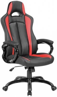 Кресло игровое Бюрократ CH-827/BL+RED черный/красный искусственная кожа цена в Москве и Питере