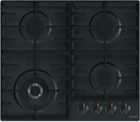 лучшая цена Газовая варочная поверхность Gorenje Infinity GW641INB черный