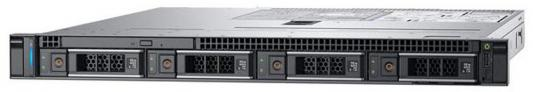 Сервер Dell PowerEdge R340 1xE-2124 1x8Gb x4 1x1Tb 7.2K 3.5 SATA RW iD9Ex 1G 2P 1x350W 3Y NBD (210-AQUB-7) сервер 1 7 2