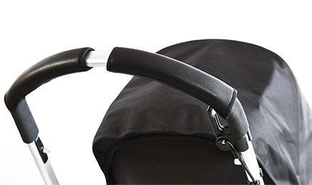 Фото - Чехлы Choopie CityGrips на ручки для универсальной коляски длинные(505 Black Leather/черная кожа) чехлы choopie citygrips на ручки для универсальной коляски 374 grey elephant серый
