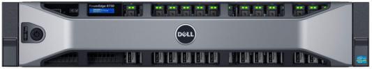 Сервер Dell PowerEdge R730 2xE5-2640v4 8x32Gb x8 6x1.2Tb 10K 2.5 SAS 2x200Gb 2.5 SSD SATA RW H730p iD8En 5720 4P 2x750W 3Y PNBD 2SDx16Gb (210-ACXU-362)