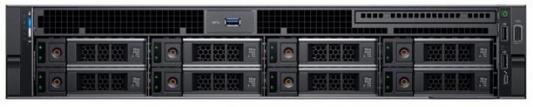 Сервер Dell PowerEdge R740 2x3106 2x8Gb x8 2x1Tb 7.2K 3.5 SATA H730p LP iD9En 5720 4P 2x1100W 3Y PNBD (210-AKXJ-31)