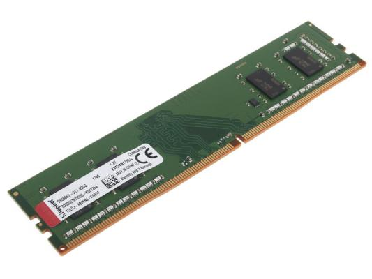 Kingston DDR4 DIMM 4GB KVR24N17S6L/4 PC4-19200, 2400MHz, CL17