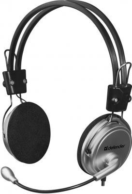 Гарнитура Defender Aura 120 черный серый 63120 63120
