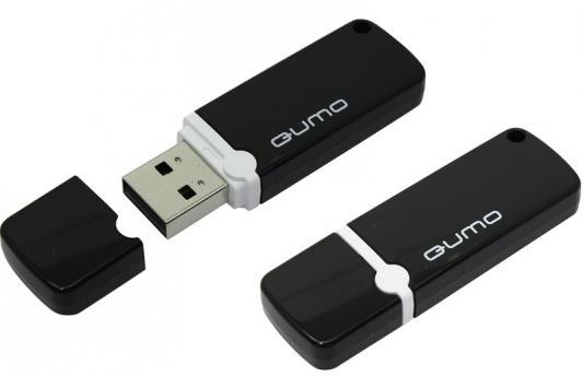 USB 2.0 QUMO 64GB Optiva 02 Black [QM64GUD-OP2-black]