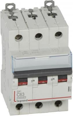 Legrand 407859 Автоматический выключатель DX3 6000 - 10 кА - тип характеристики C - 3П - 400 В~ - 16 А - 3 модуля