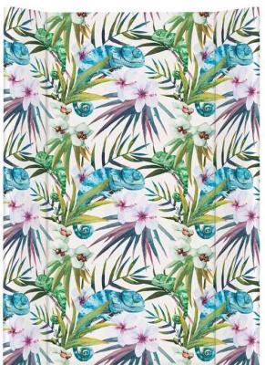 Купить Пеленальный матрас без изголовья на кровать 70см Ceba Baby Flora Fauna W-200 (camaleon blanco), рисунок, Матрасы