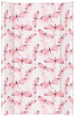 Купить Пеленальный матрас без изголовья на кровать 80 см Ceba Baby Flora Fauna W-210 (libelula), рисунок, Матрасы