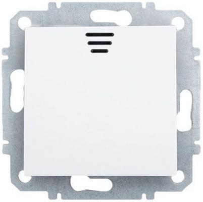 Выключатель ZAKRU 602110 BIEN одноклавишный с LED подсветкой (Т.Белый) 230В/50Гц 10А