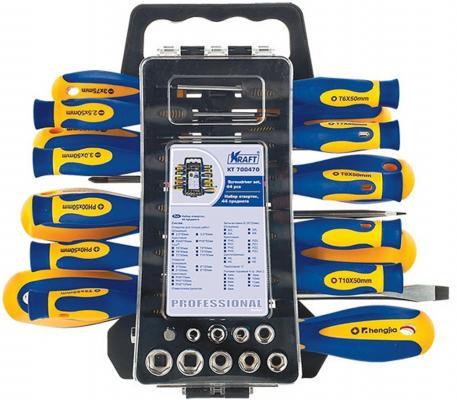 Набор отверток KRAFT КТ 700470 44пр. набор отверток kraft kt 700401
