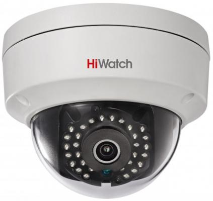 Камера IP Hikvision HiWatch DS-I122 (6 MM) CMOS 1/3 6 мм 1280 x 960 H.264 MJPEG RJ45 10M/100M Ethernet PoE белый цена