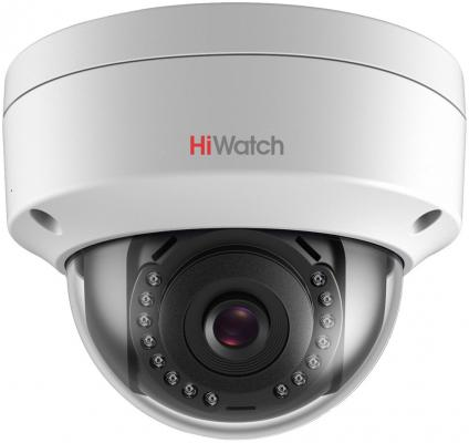 Камера IP Hikvision HiWatch DS-I202 (6 мм) CMOS 1/2.8 6 мм 1920 x 1080 H.264 MJPEG RJ45 10M/100M Ethernet PoE белый цена