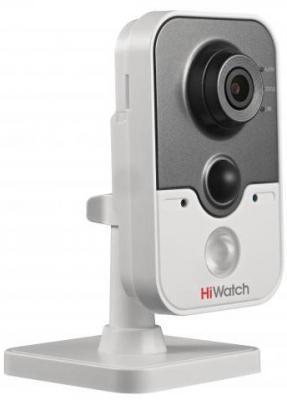 Камера IP Hikvision HiWatch DS-I214 (4 мм) CMOS 1/2.8 4 мм 1920 x 1080 H.264 MJPEG RJ45 10M/100M Ethernet PoE белый камера ip ubiquiti uvc g3 micro cmos 1 3 3 6 мм 1920 x 1080 h 264 rj45 10m 100m ethernet poe белый черный