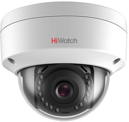 Видеокамера IP Hikvision HiWatch DS-I402 4-4мм цветная видеокамера ip hikvision ds 2cd2422fwd iw 4 4мм цветная