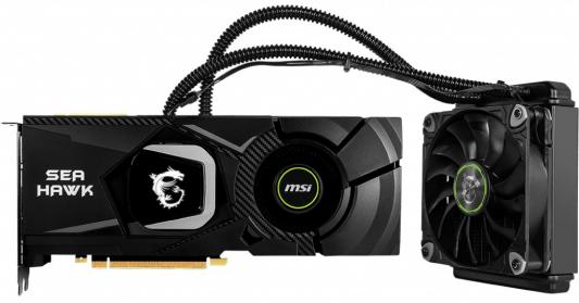 Видеокарта MSI PCI-E RTX 2080 Ti SEA HAWK X nVidia GeForce RTX 2080Ti 11264Mb 352bit GDDR6 1755/14000/HDMIx1/DPx3/Type-Cx1/HDCP Ret pci e to