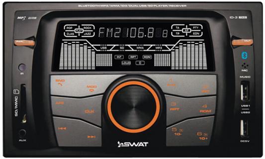 Автомагнитола Swat WX-216UBA 2DIN 4x50Вт автомагнитола kenwood dmx110 2din 4x50вт