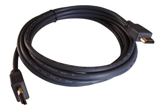 Фото - Кабель HDMI 0.9м Kramer C-HM/HM/ETH-3 круглый черный 97-01213003 кабель hdmi 3м kramer c hm hm flat eth 10 плоский черный 97 01014010