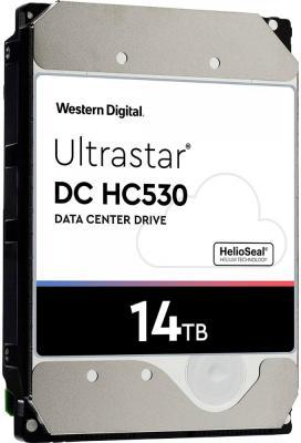 Western Digital Ultrastar DC HA530 HDD 3.5 SATA 14Тb, 7200rpm, 512MB buffer, 512e (WUH721414ALE6L4) жесткие диски hdd western digital