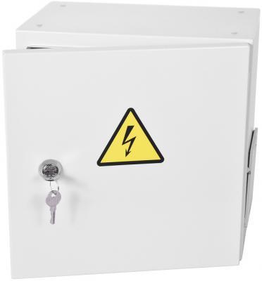 Шкаф ЭКОНОМ уличный всепогодный настенный укомплектованный (В400 Ш400 Г210), комплектация T2-IP65