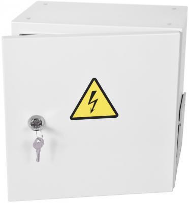 Шкаф ЭКОНОМ уличный всепогодный настенный укомплектованный (В300 Ш300 Г210), комплектация T1-IP54