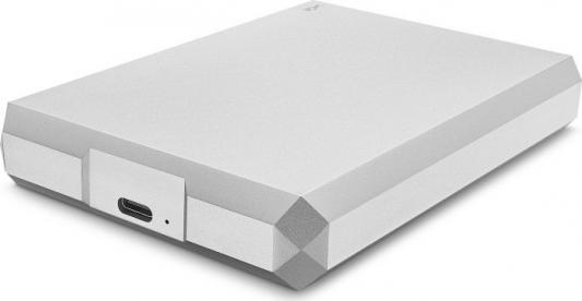 "Накопитель на жестком магнитном диске LaCie Внешний жесткий диск LaCie STHG4000400 4TB LaCie Mobile Drive 2.5"" USB 3.1 TYPE C Moon Silver"