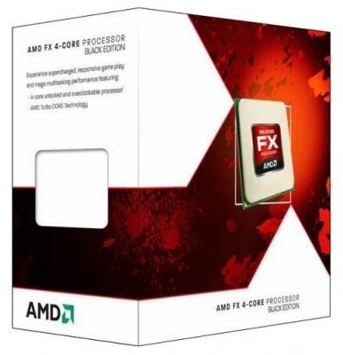 Процессор AMD Процессор AMD FX-4300 AM3+ FD4300WMHKSBX BOX процессор amd fx 9370 vishera am3 l3 8192kb box